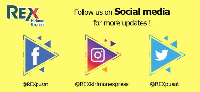 Social Media REX Kiriman Express